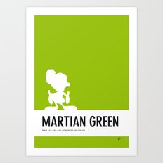 No15 My Minimal Color Code poster Marvin Art Print