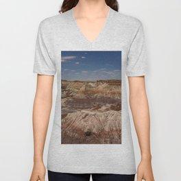 Colors Of The Painted Desert Unisex V-Neck