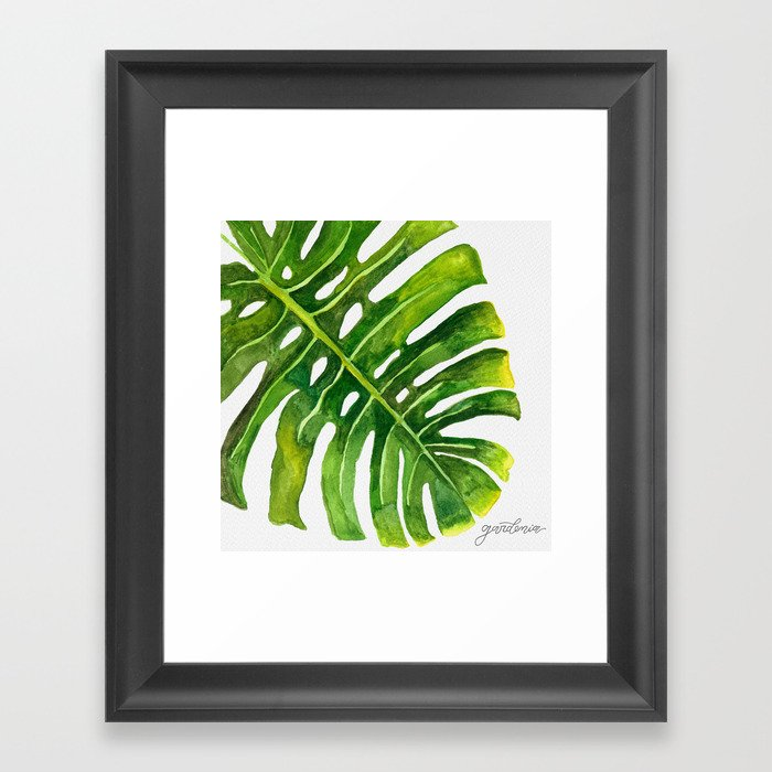 Tropical Collection part II Framed Art Print