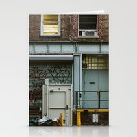 grafitti Stationery Cards featuring Grafitti Streets by Jillian VanZytveld