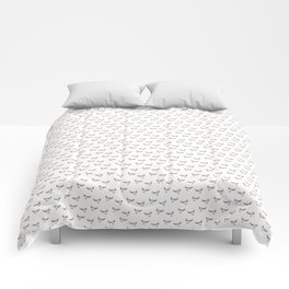 Flying puffin Comforters