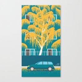 An Autumn at Home Canvas Print