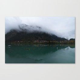 Reservoir On The Soca River Canvas Print