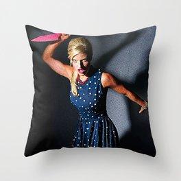 Psycho Girlfriend Throw Pillow