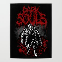 dark souls band Poster