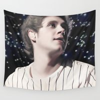 niall Wall Tapestries featuring Niall OTRA by Clara J Aira