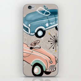 Hot Wheels of our Retro Past iPhone Skin