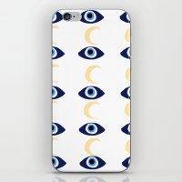 evil eye iPhone & iPod Skins featuring evil eye by sabrina