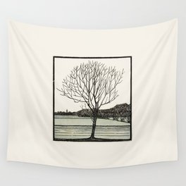 Julie de Graas, Bald Tree, 1919 Wall Tapestry