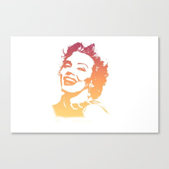 In her glory days Canvas Print