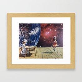 Print of Handmade Collage // Scott Locke // 2014 Framed Art Print