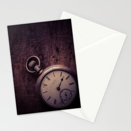 Stopping Time Stationery Cards