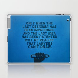 Lawyers can't draw ! Laptop & iPad Skin
