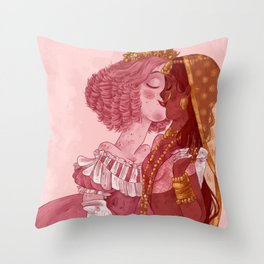 Be my Valentine - Girls Throw Pillow