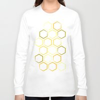 honeycomb Long Sleeve T-shirts featuring Honeycomb by Thomas Knapp