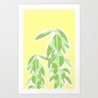 avocado Art Prints featuring Avocado by Maria Nordtveit