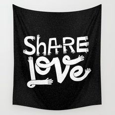 share love Wall Tapestry