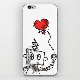 Robot Love iPhone Skin