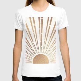 Sun Shines Inside you-Gold Edition T-shirt