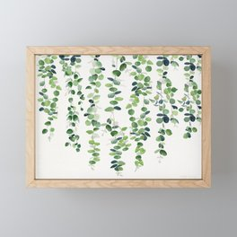 Eucalyptus Garland  Framed Mini Art Print