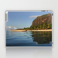 Le Morne Beach, Mauritius Laptop & iPad Skin