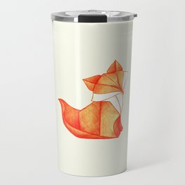 Paper Fox Travel Mug