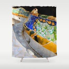 Gaudi Series - Parc Güell No. 1 Shower Curtain