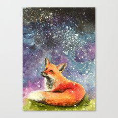 the stars are brightly shining  Canvas Print