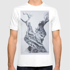 Humanity definition Mens Fitted Tee White MEDIUM