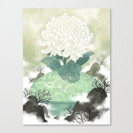 Celadon Canvas Print