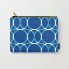 Blue Pattern Carry-All Pouch
