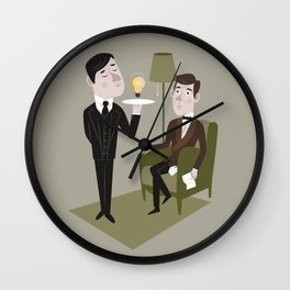 Jeeves & Wooster Wall Clock