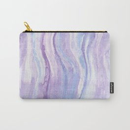 Abstract textile Carry-All Pouch
