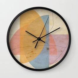 tied shapes Wall Clock