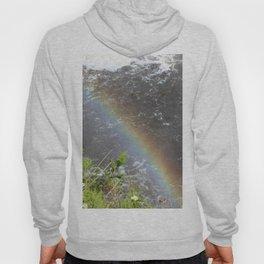 Rainbow at Tahquamenon Falls Hoody