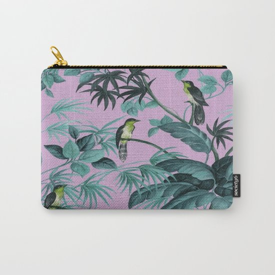 Birds and leaves Carry-All Pouch