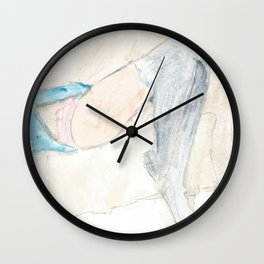 Lazy Day Wall Clock