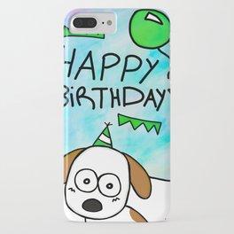 Happy Birthday - Nicolás iPhone Case