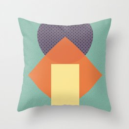 Cirkel is my friend V4 Throw Pillow