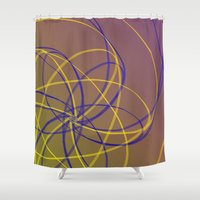 fifth harmony Shower Curtains featuring Harmony by ShaylahLeigh