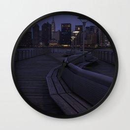 Midtown Manhattan skyline Wall Clock