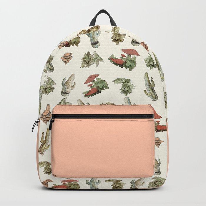 cactus and nature Backpack