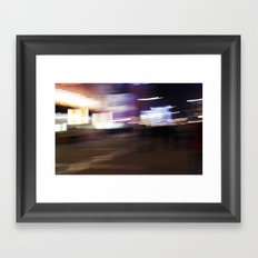 Wangfujing Delusions Framed Art Print