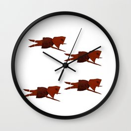 Sweet Potato Sea Wall Clock