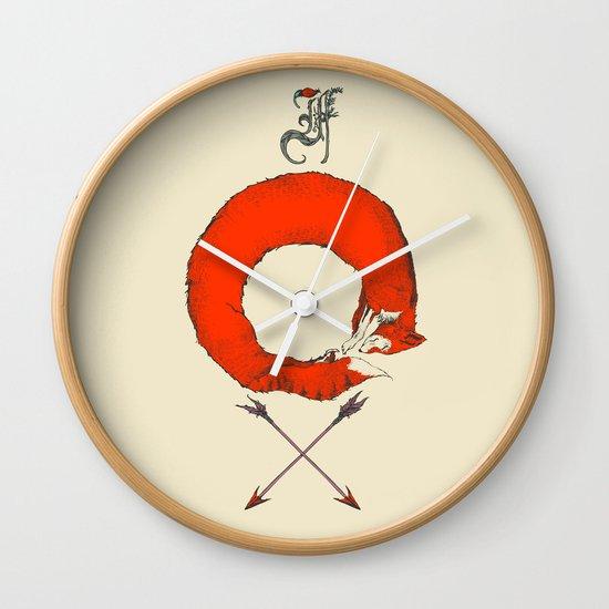 F.O.X Wall Clock