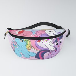 My Little Pony all generations so far Fanny Pack