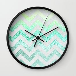 FUNKY MELON SEAFOAM Wall Clock