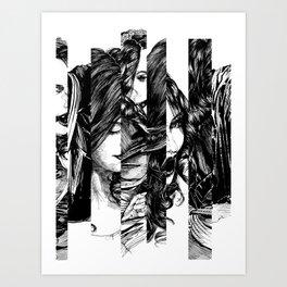 Looking Glass. Yury Fadeev. Art Print