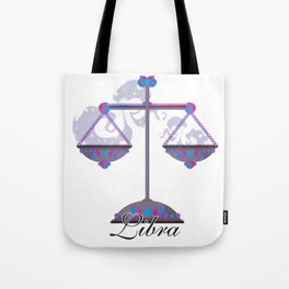Starlight Libra Tote Bag