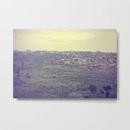 city in the hills::rwanda Metal Print